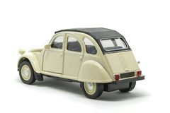 An epic back Citroen 2CV car royalty free stock image
