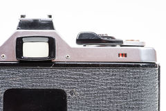 The back view of an old and dusty camera Stock Photos