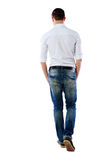 Back view portrait of a man Stock Photography