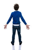 Back view portrait of a young man Royalty Free Stock Photography