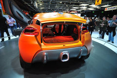 Back view of Renault Captur Concept Stock Image