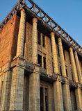 Ruins 3. Back view of the Romanian Academy building,placed in Bucharest,Sirenelor(Mermaids) Street Royalty Free Stock Photos