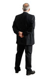 Back view of senior businessman Stock Images