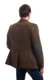Back view of stylishly dressed man Stock Image