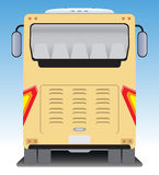 Back  view of Tourist bus Stock Images