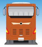 Back  view of Tourist bus Stock Image