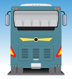 Back  view of Tourist bus Stock Photos