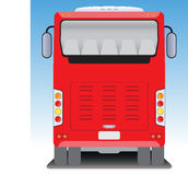 Back  view of Tourist bus Stock Photography