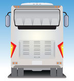 Back  view of Tourist bus Royalty Free Stock Photo