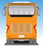 Back  view of Tourist bus Royalty Free Stock Image