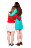 Back view of two young woman. Stock Photography