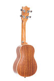 Back view of ukulele guitar Royalty Free Stock Images