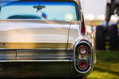 Back view of vintage car Royalty Free Stock Photo