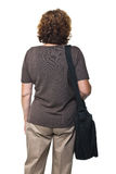 Back view of woman Stock Photo