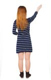 Back view of woman. Royalty Free Stock Photo