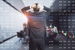 Economy and stats concept royalty free stock photo