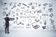 Education and science concept royalty free stock photography