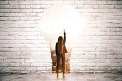 Success and idea concept stock photos