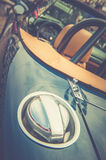 Back of a vintage car Royalty Free Stock Photo