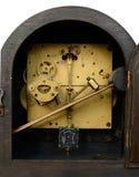 Back of Vintage Chiming Clock Stock Image