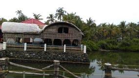 Back waters. Seen taken from valiya paramba Royalty Free Stock Photos