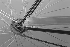 Back wheel Royalty Free Stock Images