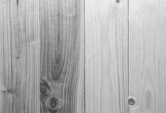 Back and white wood plank wall texture background.  Stock Photography