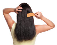 Back of a woman Stock Image