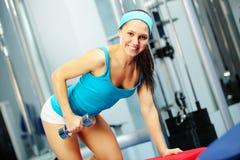 Back workout Stock Photos
