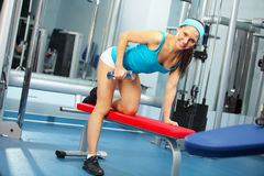 Back workout Royalty Free Stock Photo