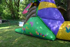 Back yard carnival Stock Images