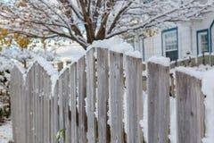 Back Yard Fence Royalty Free Stock Images