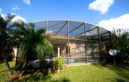 Back Yard Of Florida House Royalty Free Stock Image