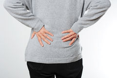 Backache Royalty Free Stock Photo