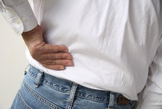 Backache Stock Photography
