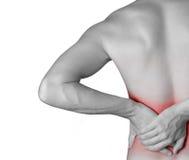 backache Стоковые Изображения RF