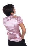 backache cierpienia kobieta obrazy stock