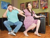 backache kobieta w ciąży obraz stock