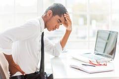 Backache. Stock Image