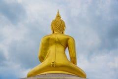 Backaide Buddha in Wat Sa Prasan Suk temple. Wat Sa Prasan Suk temple at Ubon Ratchathani, Thailand Royalty Free Stock Photo
