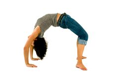Backbend Royalty Free Stock Images