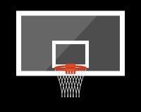 Backboard, basket Royalty Free Stock Photo