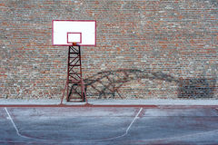 Backboard Basketball Hoop Stock Image