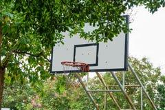backboard koszykówki kolorowy ilustraci wektor obrazy stock