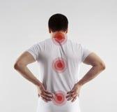 Backbone disease Stock Image