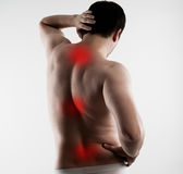 Backbone disease Royalty Free Stock Image