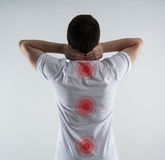 Backbone disease Stock Images