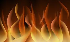 Backbround abstrato das chamas do fogo ilustração royalty free