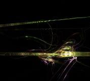 Backbround astratto nero Fotografie Stock Libere da Diritti