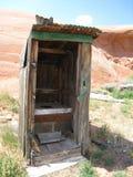 Backcountry Bathroom Stock Photo